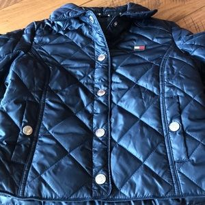 Toddler girls puffer quilted jacket